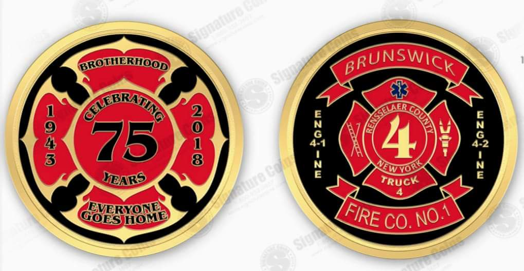 Now Available – 1st Edition Brunswick No. 1 Challenge Coin!