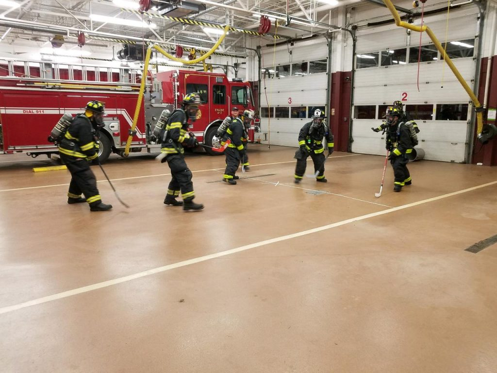 SCBA – MSA Airpack Training
